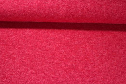Strickjersey - Jersey Angora Rot