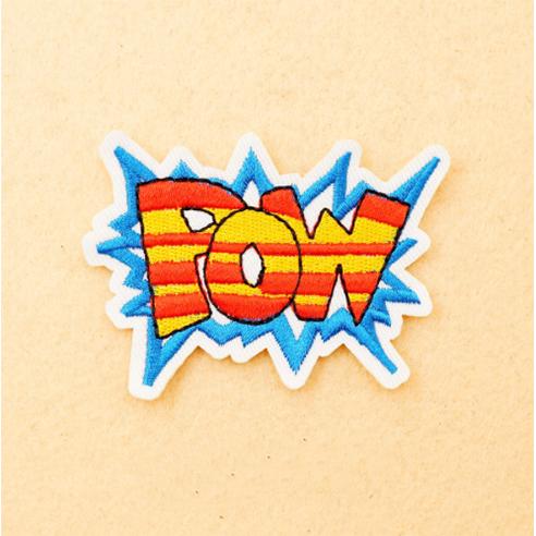 Patch Aufnäher POW 6,8 x 8,8 cm