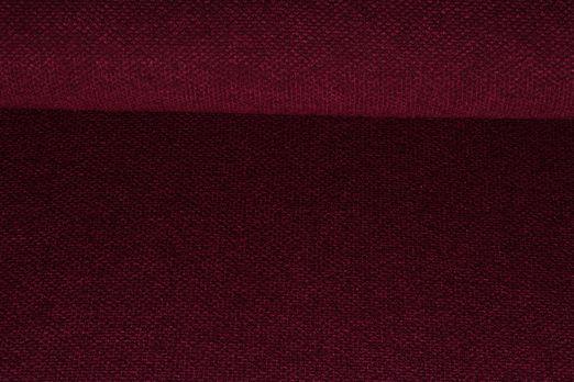 Modestoffe - Boucle Verona Weinrot