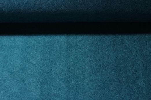 Stickfilz waschbar 3mm - Uni Petrol