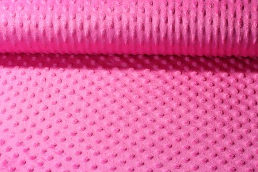 Fleece Minky - Pink