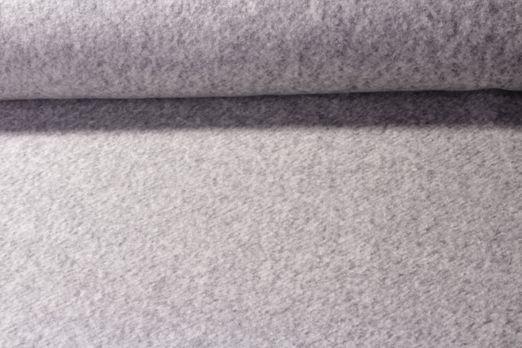 Fleece - Geneva Baumwolle Gestrickt Grau Melange