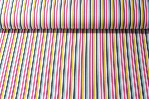 Jersey gemustert - Stripes Multicolor