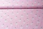 Baumwolle gemustert - Pretty Ballerina Rosa Multicolor 001
