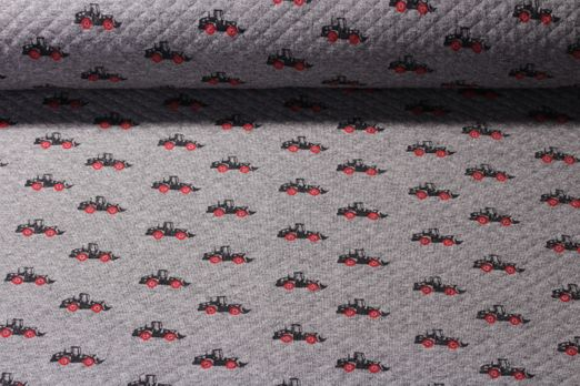 Sweat gemustert- Waffel Trucks Grau Multicolor