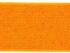 Gummiband 25mm Glitzer Neon-Orange
