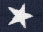 Gummiband 20mm Sterne dunkelblau
