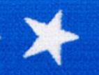 Gummiband 20mm Sterne kobalt