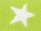 Gummiband 20mm Sterne lime
