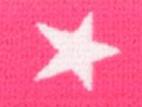 Gummiband 20mm Sterne pink