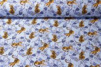 Jersey gemustert - Tiger Lilly Hellblau Multicolor
