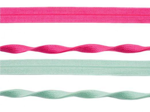 Elastisches Schrägband Jacquard - 2m Länge