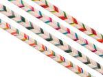 2m Baumwollkordel doppelt multicolor 001