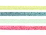 Schrägband elastisch 20mm Glitzer 001