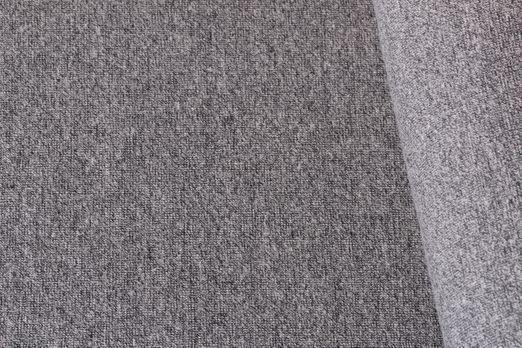 Bündchen uni - Bündchen Grau Melange