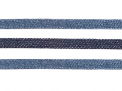 2m Flache Kordel denim 10mm