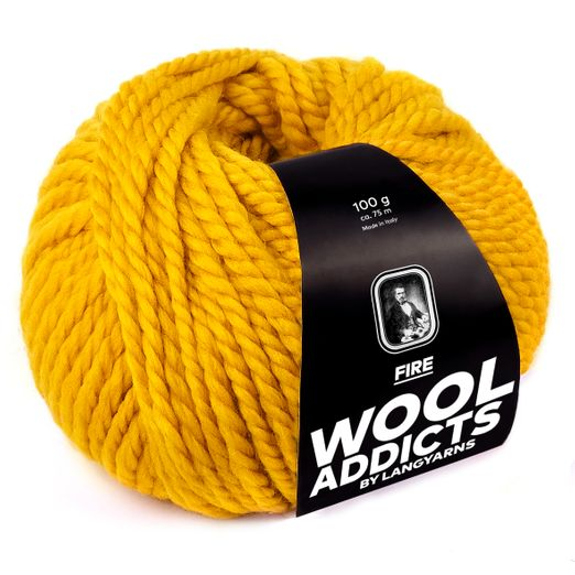 Lang Yarns WoolAddicts Fire