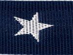 Gurtband Sterne 40mm dunkelblau