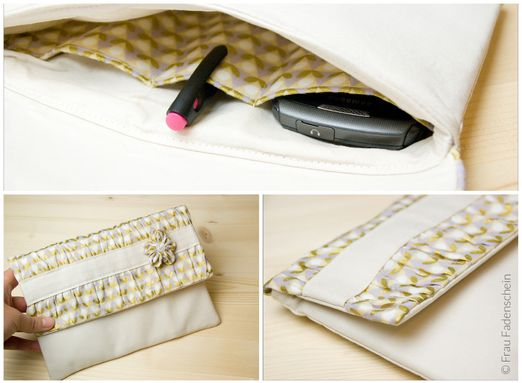 Clutch - Mira - Schnittmuster eBook