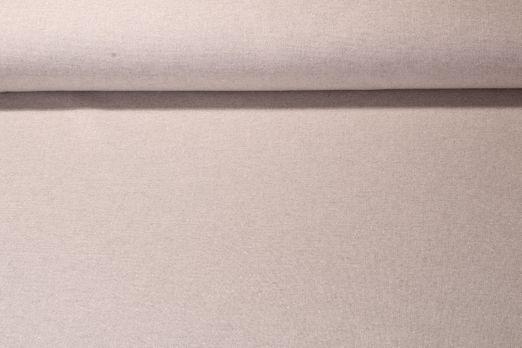 Canvas uni - Grau Glitzer Silber