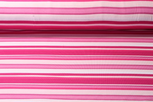 Jersey gestreift - Pink Multicolor
