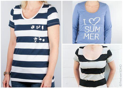 Shirt - Sommerheldin - Schnittmuster eBook