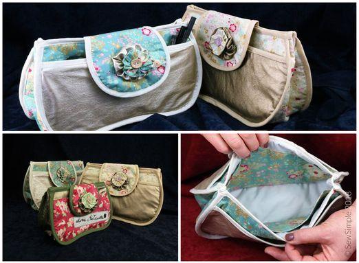 Taschenorganizer - Versailles - Schnittmuster eBook
