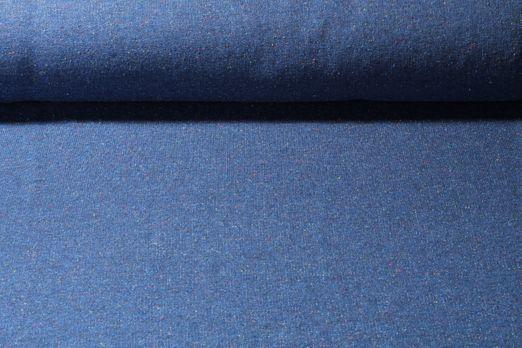 Seemannsweat - French Terry Konfetti Blau Melange Multicolor