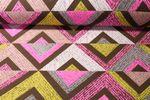 Canvas gemustert - Dreieckmix Multicolor 001