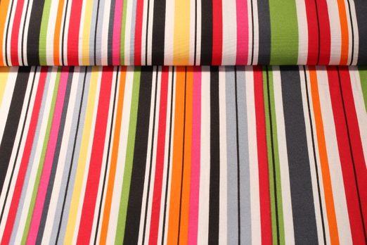 Canvas gemustert - Stripe Multicolor