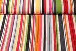 Canvas gemustert - Stripe Multicolor 001