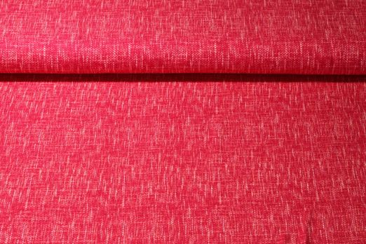 Jersey gemustert - Weboptik Fuchsia