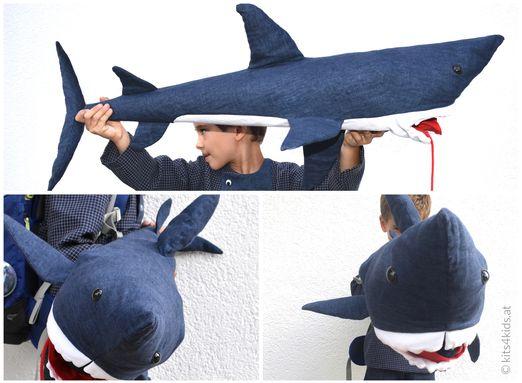 Hai-Schultüte - Bruce - Schnittmuster eBook