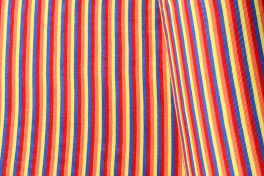 Bündchen geringelt - Streifen Breit Multicolor