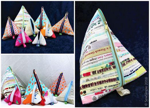 Pyramidentäschchen Schnittmuster eBook