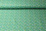 Jersey gemustert - Schuppen Grün Multicolor 001