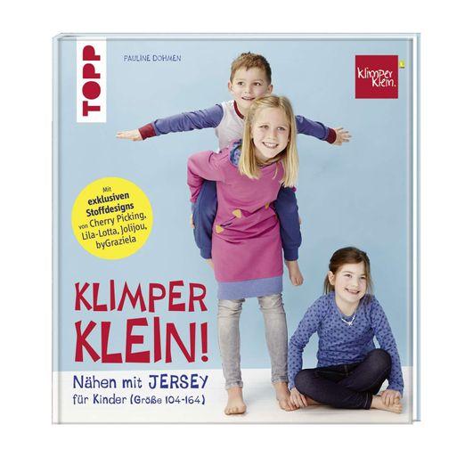 Nähen mit Jersey für Kinder Größe 104 -164 cm - Klimperklein