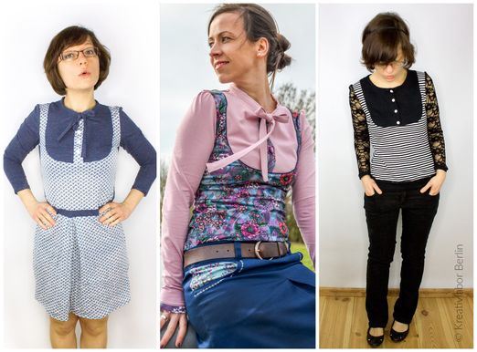 Kleid und Shirt - Masha - Schnittmuster eBook