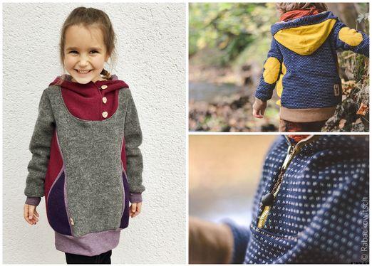 Retro Pullover Kleid Pullunder - Bonnie&Kleid - Schnittmuster eBook