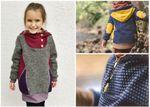 Retro Pullover Kleid Pullunder - Bonnie&Kleid - Schnittmuster eBook 001