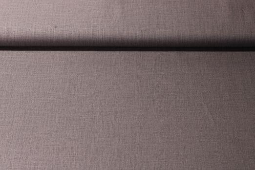 Modestoff uni  - Viskose Leinen Mix Grau