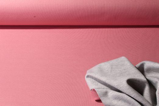 Scuba uni - 2-Colour Scuba Rose Grau Melange