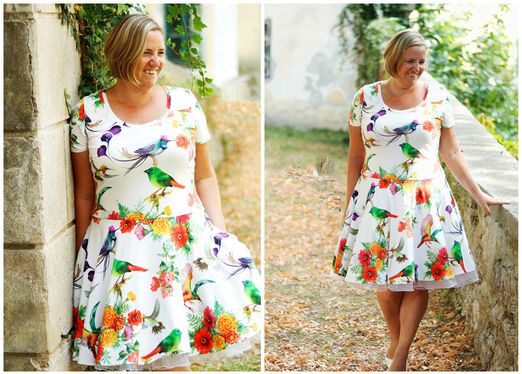 Kleid - Mary Lou - Schnittmuster eBook