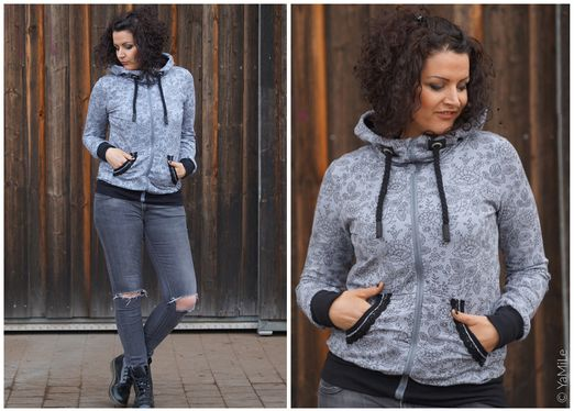 Sweatjacke Damen - Schnittmuster eBook