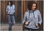 Sweatjacke Damen - Schnittmuster eBook 001
