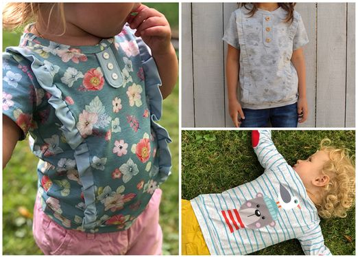 Kindershirt - Filip & Filipa - Schnittmuster eBook