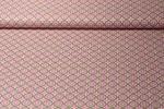 Baumwolle gemustert - Blumenkreise Rosa Multicolor 001