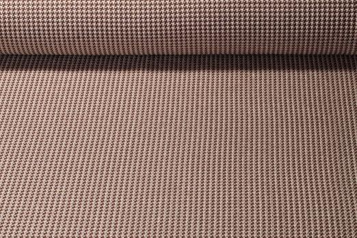 Jersey gemustert - HHL Tweed Knit Jacquard GOTS  Hamburger Liebe Braun