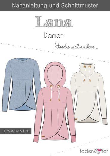 Pullover - Lana - Papierschnittmuster