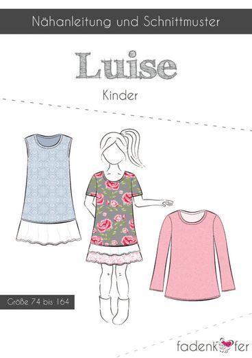 Kinder Kleid - Luise - Papierschnittmuster
